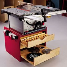 Buy Woodworking Project Paper Plan to Build Mobile Tablesaw at Woodcraft.com