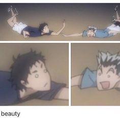 This is an account for all anime memes! This one is haikyuu 💕🤧🤧 - 🏷 Haikyuu Funny, Haikyuu 3, Haikyuu Ships, Haikyuu Karasuno, Hinata, Bokuto X Akaashi, Kagehina, Haikyuu Volleyball, Volleyball Anime