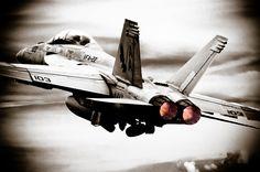 F-18 Afterburners