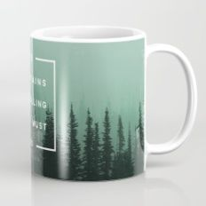 Mug featuring The Mountains Are Calling by Zeke Tucker