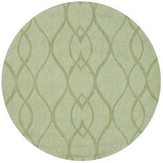 Handmade Timeless Green New Zealand Wool Rug (5' Round) - Overstock™ Shopping - Great Deals on Safavieh Round/Oval/Square