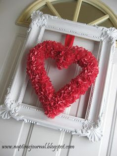House Revivals: I Heart Wreaths, a Collection of Favorite Valentine's Wreaths