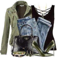 """Boyfriend Jeans & Pumps"" by brendariley-1 on Polyvore"