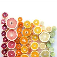 Anyone else feeling a bit under the weather? A #crafttherainbow of citrus should fix you right up! @wrightkitchen
