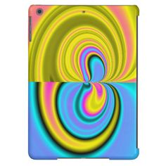 Unique abstract pattern iPad air covers