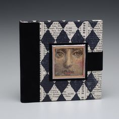 Note Tote with Fornasetti embellishment