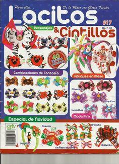 Revistas de manualidades Gratis: Revista Lacitos y Cintillos #17