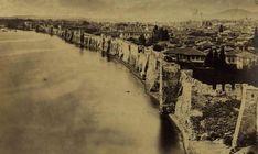 Η Θεσσαλονίκη με τείχος - 1860 Ancient Greek Art, Thessaloniki, Macedonia, World Heritage Sites, City Photo, Vineyard, Greece, Beautiful Places, Outdoor