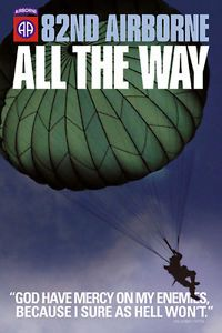82nd Airborne Military Soldier Protect and Serve Print Poster