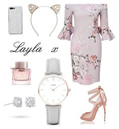 """""""Layla x"""" by maisymolbechmcphail ❤ liked on Polyvore featuring Lipsy, Full Tilt, Burberry, CLUSE and Masquerade"""