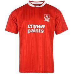 fe5de9c09 Liverpool FC 1987-88 Retro Jersey Football Kits