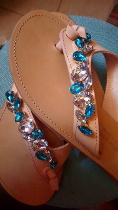Handmade sandals by Isidora