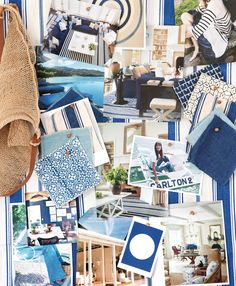 7 Things I Learned from Reese Witherspoon's Decorator, Mark D. Sikes - Create a Mood Board  from InStyle.com