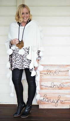 White Label Noba shirt; pants; wrap; necklace | FRANKiE4 Footwear boots