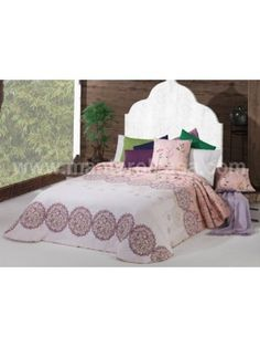 Summer Bedspread Fresh with pillowcases - Double face - 250X270cm art FRESH 267