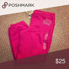 Gap sweatpants Gap drawstring 3/4 length sweatpants GAP Pants Track Pants & Joggers
