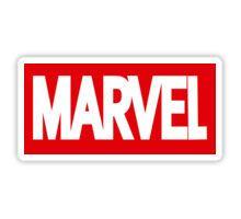 Marvel Logo Sticker