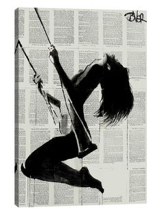 The Lightness Of Being Again II by Loui Jover (Canvas) by iCanvas at Gilt
