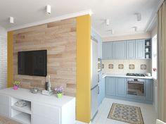 Это люди с возрастом не меняются, а вот квартиры – запросто, причем любые. Дизайнер Юлия Гаврилова показывает, что можно сделать из двухкомнатной хрущевки с помощью цвета и небольшой перепланировки.