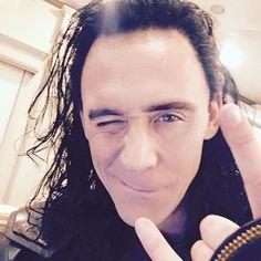 Primera imagen de Loki en el set de rodaje de Thor: Ragnarok