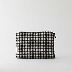 fabric zip pouch, $45 at steven alan