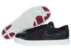 new product 92bc3 9e7ff Nike Blazer Low Premium Woven Black Ant