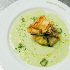 IL PIATTO E' SERVITO Fagottino di Caprino e Asparagi #chefgiovanni #invda #chezhcdc #food #instafood #foodporn #yummy #km0 #local