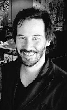 Keanu ♡♥ Reeves..Is there anything more amazing than him smiling? :)