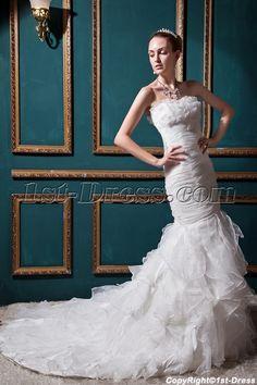 Junoesque Mermaid Wedding Dresses with Sweetheart Neckline IMG_0514:1st-dress.com