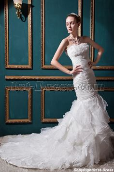 Junoesque Mermaid Wedding Dresses with Sweetheart Neckline IMG_0514:1st-dress.com