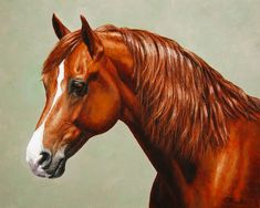 Morgan Horse - Flame - Mirrored Painting