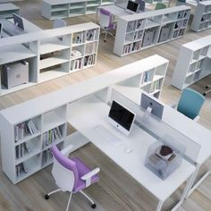 Best Two Person Desk Design Ideas for Your Home Office Workspace,desk computer desk office chairs filing cabinets standing desk office desk desk chair l shaped desk desks corner desk office furniture white desk comp…, White Office Furniture, Office Storage Furniture, Modern Office Desk, Home Office Storage, Office Workspace, Home Office Desks, Desk Storage, Office Chairs, Small Storage