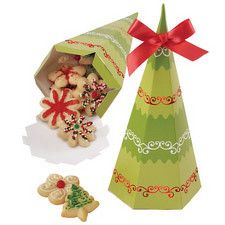 Tree Christmas Treat Box by Wilton 415-0309