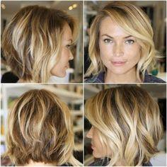 oval face hair style