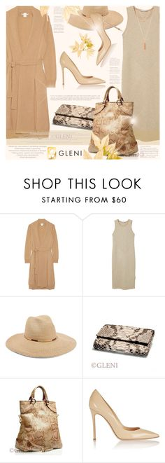 """Luxury Summer with Gleni Boutique"" by monazor ❤ liked on Polyvore featuring Rosetta Getty, MANGO, Eugenia Kim, Gianvito Rossi, gleni and gleniboutique"
