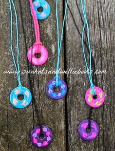 Washer Necklace | 50 Really Cool and Easy DIY Crafts For Teens | Crafts For Teens | DIY Projects for teens |DIY Crafts