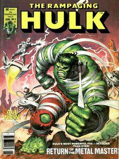 Rampaging Hulk #3. The return of the Metal Master.  #Hulk #MetalMaster