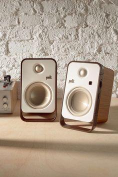 Polk Audio Hampden Desktop #speakers - Urban Outfitters