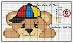 Atendendo a pedidos, gráficos de ursinhos em ponto cruz....Créditos nas imagens...