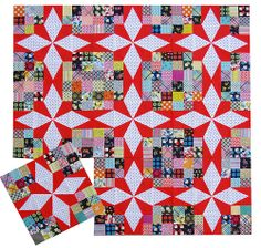 Red Pepper Quilts: [workinprogress]  Based on a vintage quilt. Beautiful!