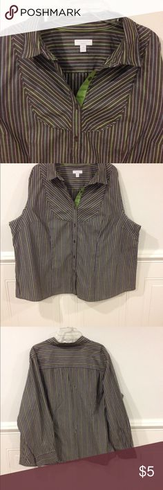 24W Charter Club blouse good condition Size 24W Charter Club blouse good condition Charter Club Tops Blouses