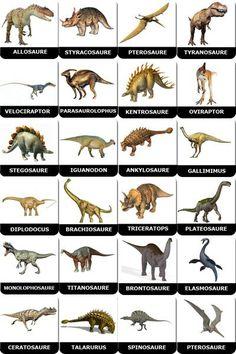 cartes à imprimer dinosaures