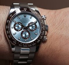 Rolex Daytona Platinum 116506 Hands-On: An Homage To Paul Newman?   aBlogtoWatch Good.