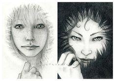 Hooded ~ Nadezhda Vasile ~ http://nadezhdavasile.deviantart.com/art/Hooded-142274859?q=sort%3Atime%20gallery%3Anadezhdavasile=445