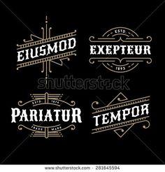 Logotipo Vectores en stock y Arte vectorial | Shutterstock