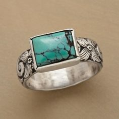 Carved Turquoise Ring in Spring Jewelry 2013 from Sundance on shop.CatalogSpree.com, my personal digital mall.