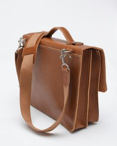 Timeless leather satchel from BillyKirk