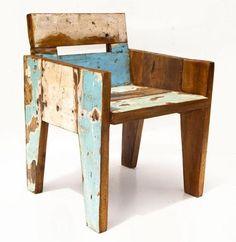 Sloophout stoeltje Evenaar | online bestellen | Klein en Stoer webshop