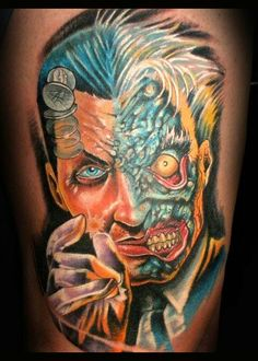 Two-Face Tattoo