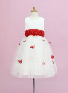 Flower+Girl+Dresses+-+$88.99+-+A-Line/Princess+Scoop+Neck+Ankle-Length+Organza+Satin+Tulle+Flower+Girl+Dress+With+Sash+Flower(s)+Bow(s)+(010005345)+http://jjshouse.com/A-Line-Princess-Scoop-Neck-Ankle-Length-Organza-Satin-Tulle-Flower-Girl-Dress-With-Sash-Flower-S-Bow-S-010005345-g5345